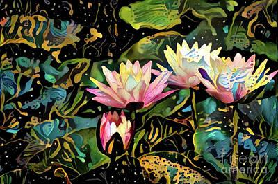 Waterlilies 7 Poster