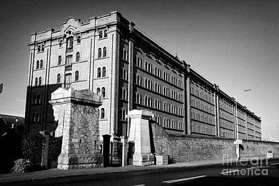 Waterloo Dock Warehouse Residential Apartments Liverpool Uk Poster