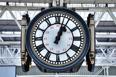 Waterloo Station - London Poster