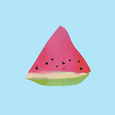 Watermelon Poster by Jacquie Gouveia