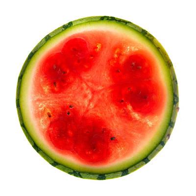 Watermelon Slice Poster by Steve Gadomski