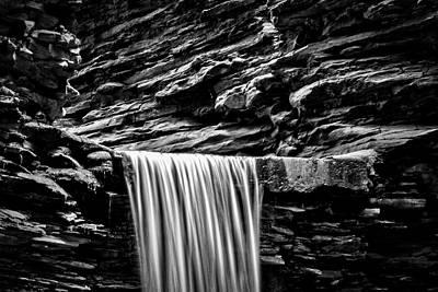Watkins Glen Cavern Cascade Waterfall #4 Poster