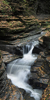 Poster featuring the photograph Watkins Glen Rapids by Joshua House