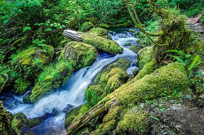 Watson Creek Falls Oregon Poster