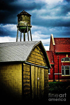 Waurika Old Buildings Poster
