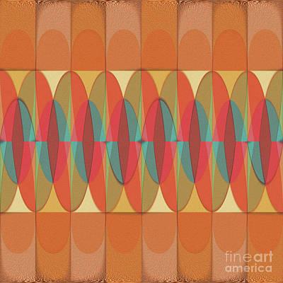 Wavy Color Stripe Poster by Gaspar Avila