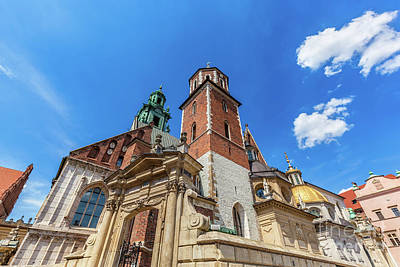 Wawel Cathedral, Cracow, Poland. The Royal Archcathedral Basilica Poster