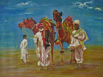 Way Of Life Poster by Khalid Saeed