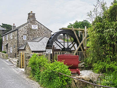 Wayside Museum And Trewey Mill, Zennor, Cornwall Poster by Terri Waters