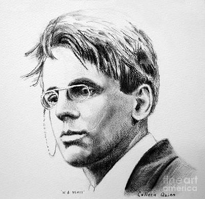 W.b. Yeats Poster by Colleen Quinn