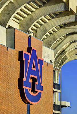Wde From Jordan Hare Poster by JC Findley