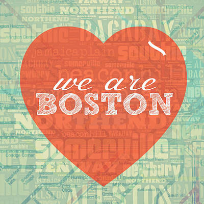 We Are Boston Poster