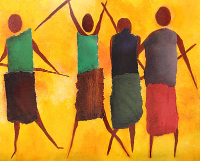 We Are The People Poster by Nirdesha Munasinghe