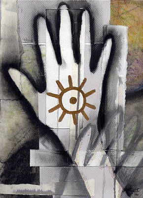 we make walls and windows III Poster by Janelle Schneider