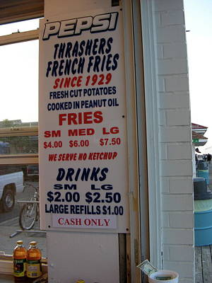 We Serve No Ketchup Poster