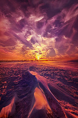 We Wait And We Wonder Poster by Phil Koch