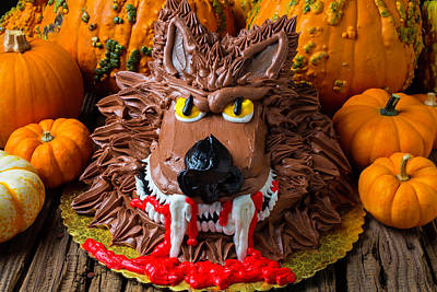 Wearwolf Cake Poster by Garry Gay