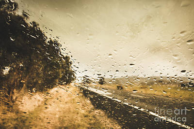 Weather Roads Poster