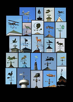 Weathervanes Poster by Harry Moulton
