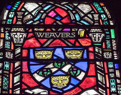 Weavers Stained Glass Poster