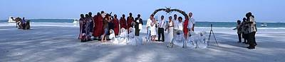Wedding Complete Panoramic Kenya Beach Poster