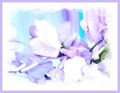 Wedding Flower Pedals Poster by Marsha Heiken