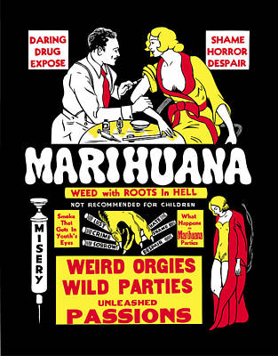 Weed With Roots In Hell  1936 Poster