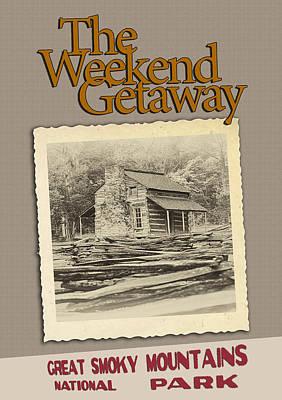 Weekend Getaway Poster by John Haldane