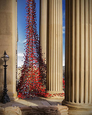 Weeping Window, And They Fell Like The Rain Poster