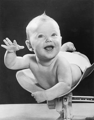 Weighing Baby Poster by Fpg