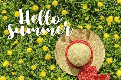 Poster featuring the photograph Welcome Summer by Teri Virbickis