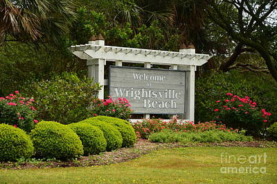 Welcome To Wrightsville Beach Nc Poster