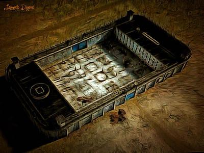 Welcome To Your Prison - Da Poster by Leonardo Digenio