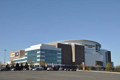 Wells Fargo Center Arena Philadelphia Pa Poster by Bill Cannon
