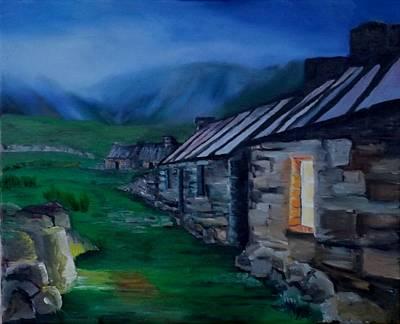 Welsh Cottage Poster