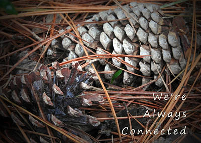 We're Always Connected Poster