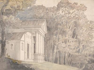 Werrington Park, Devonshire Poster by Francis Towne