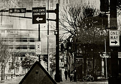 Poster featuring the photograph West 7th Street by Susan Stone