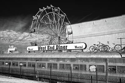Poster featuring the photograph West End Diner by James Barber