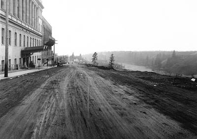 West Main Avenue - Peaceful Valley - Spokane 1918 Poster