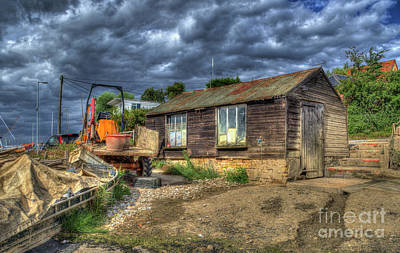West Mersea Oyster Shed Poster