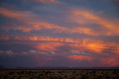 West Texas Sunset #1 Poster