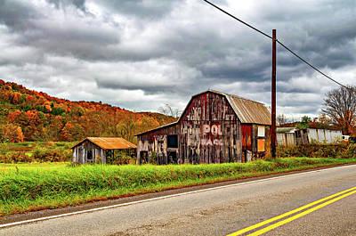 West Virginia Barn 2 Poster by Steve Harrington
