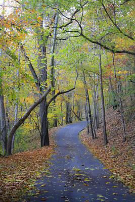 West Virginia Fall Scene Poster by Teresa Mucha