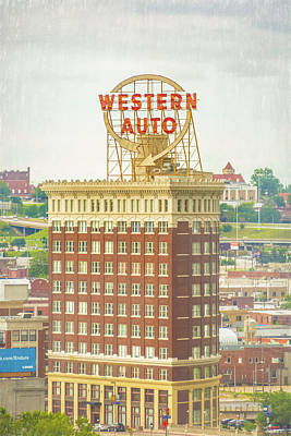 Western Auto Poster