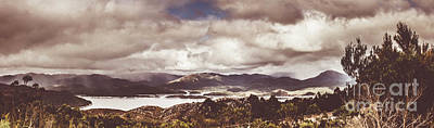 Western Tasmanian Lakes Landscape Poster by Jorgo Photography - Wall Art Gallery