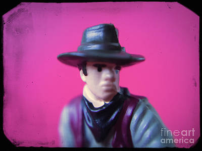 Western Toy Figure #2 Poster by A Cappellari