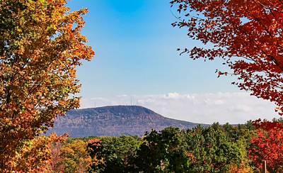 Westhampton View Of Mount Tom Poster