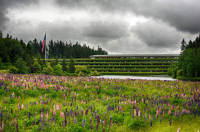 Poster featuring the photograph Weyerhaeuser Headquarters by Dan McManus