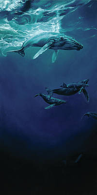 Whalesong Poster by Heather Theurer